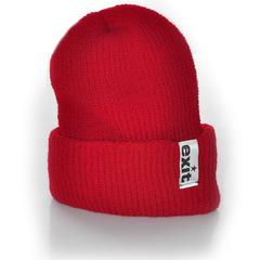 EXIT beanie (red)