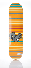 EXIT Retro Stripe deck 7.75""